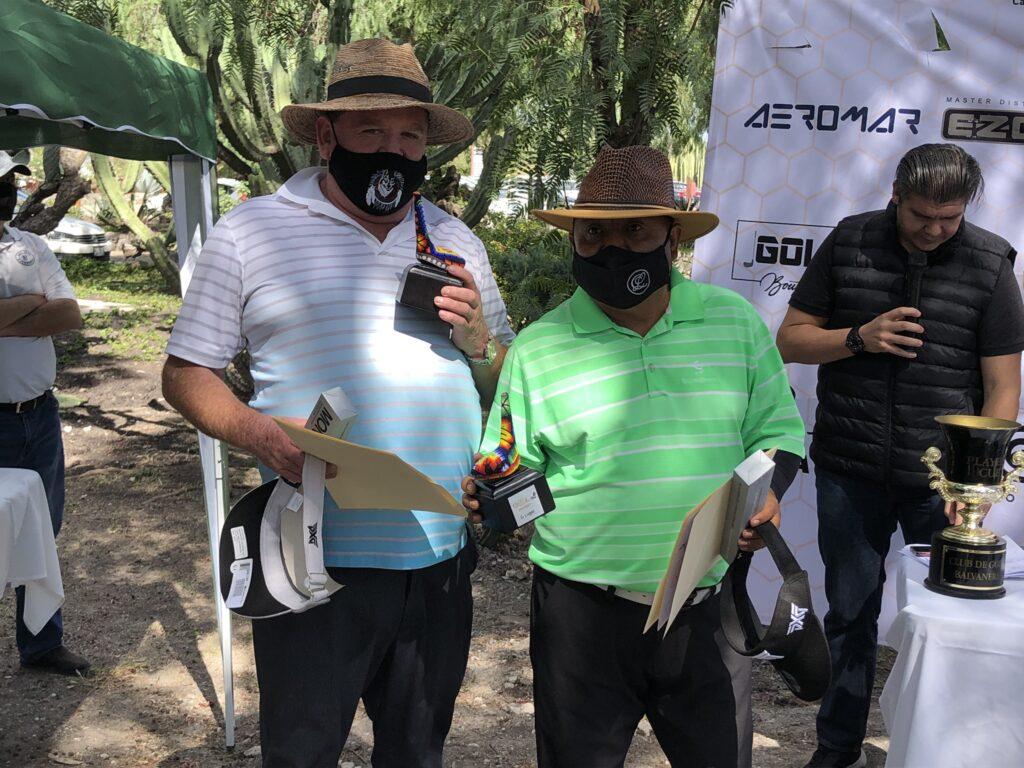 Ganadores del torneo de golf