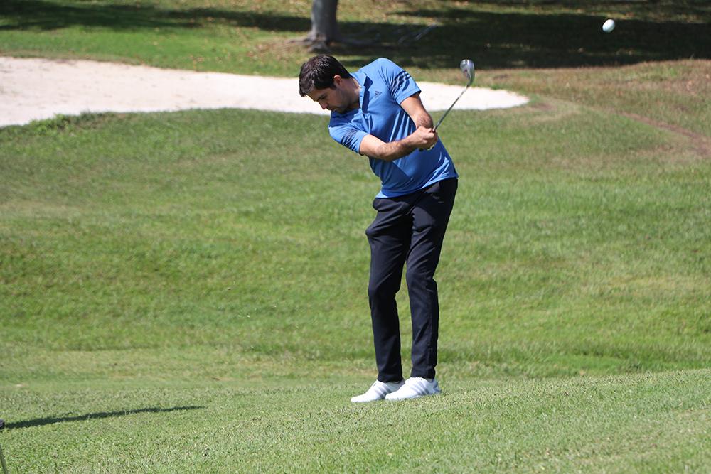 Jugador del torneo de golf en morelos expogolf mexico