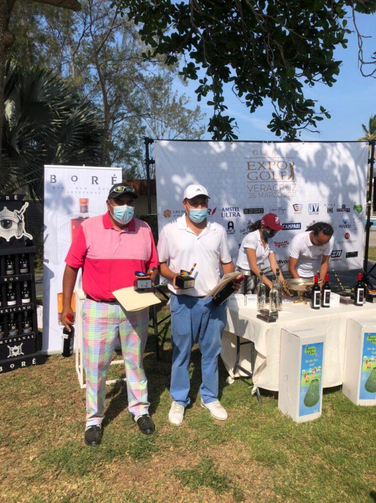 Tercer lugar del torneo de golf en México por Veracruz